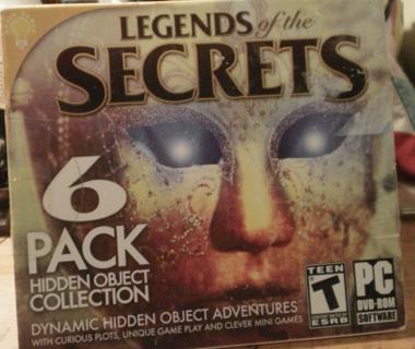 Legends of the Secrets 6 pack
