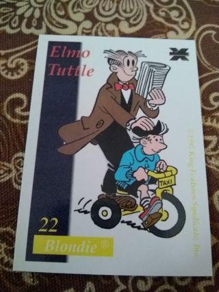 Blondie Trading Card