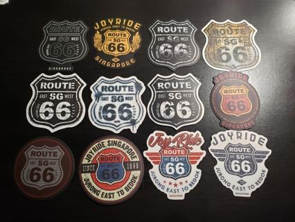 Route 66 Singapore| Sticker Lot | Skateboard | Stickers #2