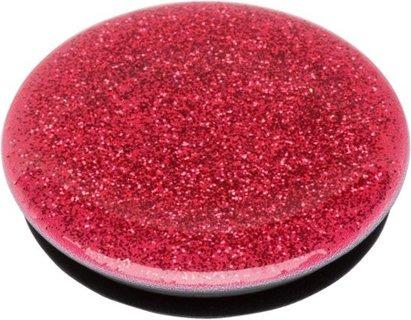 Finger Grip/Kickstand - Red Glitter