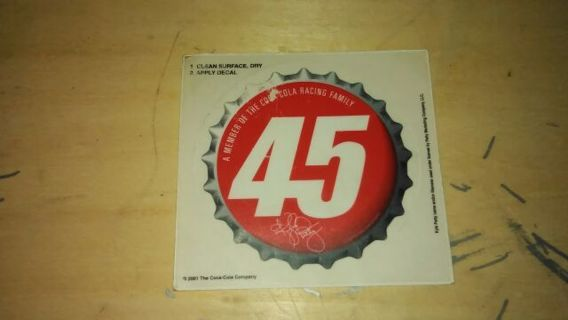 Kyle Petty #45 Decal