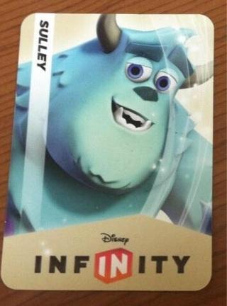Sulley Disney Infinity Digital Code