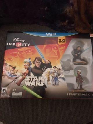 *~Disney Infinity 3.0 Edition STAR WARS STARTER PACK For WII U