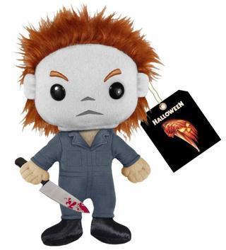 NEW Halloween Mike Myers Plush Doll Toy Stuffed Animal Plush FREE SHIPPING