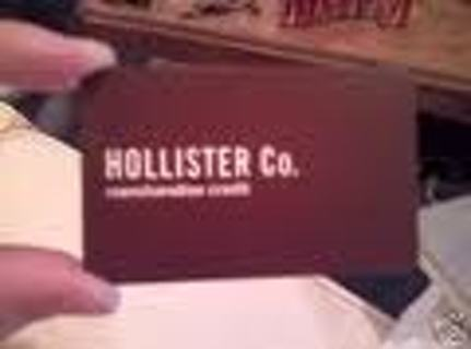 $25 Dollar Hollister Gift Card (or Ecode if you choose)