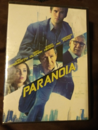 PARANOIA DVD FACTORY SEALED