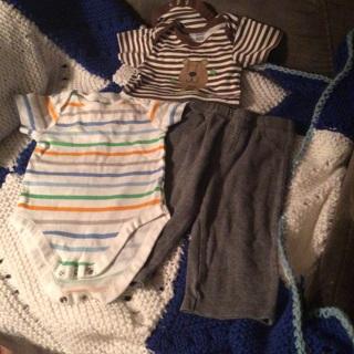 Onesie and pants bundle