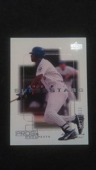 """#""""d rare JULIO ZULETA Baseball Card 2000 Upper Deck Prospective Superstars #147 (1600)"""