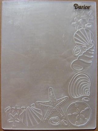 SEASHELLS ~ Darice Embossing Folder