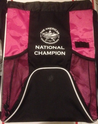 SALE ~ Brand New Backpack - National Cheer & Dance Champion