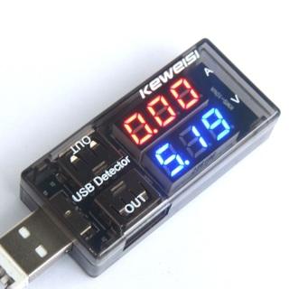 USB Volt Meter Ammeter Charger Battery Tester Current Voltage Detector