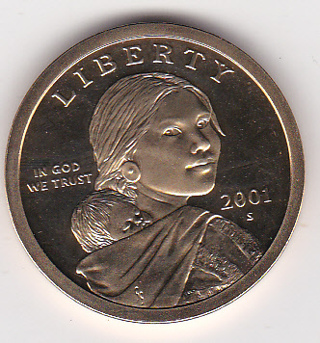 **KEY DATE** 2001-S PROOF SACAGAWEA DOLLAR COIN