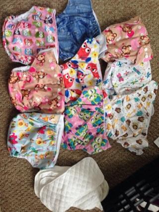 HUGE Cloth Diaper Lot!