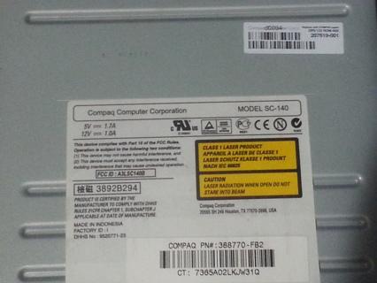 Compaq CD ROM Drive