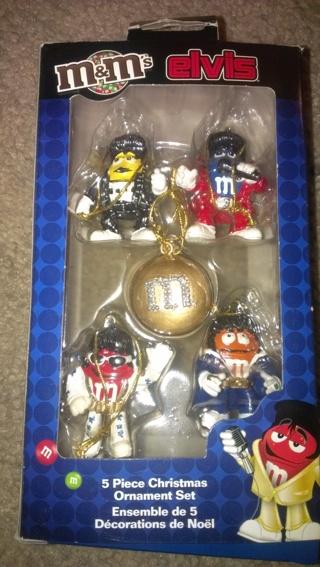 mm elvis christmas ornament set