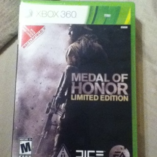 Medal Of Honor Limited Edition(Xbox 360)