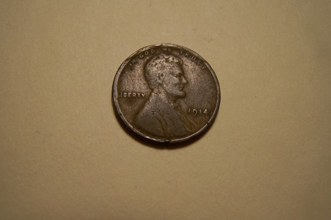 1914 Lincoln Wheat Cent Wheatie Penny