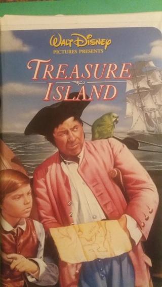 VHS movie  disney  treasure island  free shipping