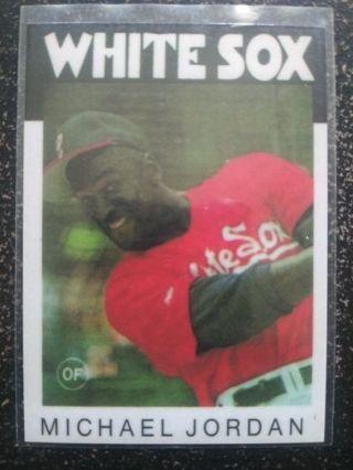 MLB Michael Jordan (White Sox)(RC RP)(NM-M)#2
