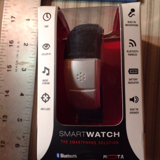 Motorola Smart Watch, in box, opened, never used.