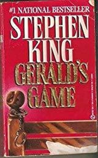 GERALD'S GAME by Stephen King (BEFORE YOU BID PLEASE ASK HOW MUCH SHIPPING COSTS TO YOUR LOCATION)
