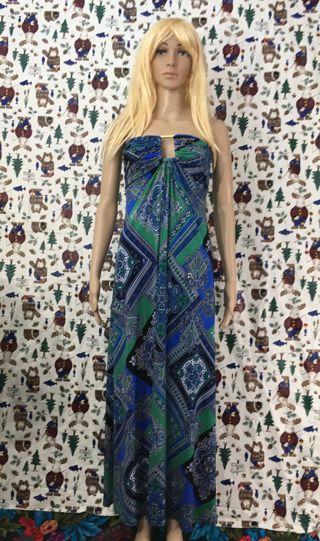 WOMEN'S COLORFUL DRESS LONG MAXI DRESS