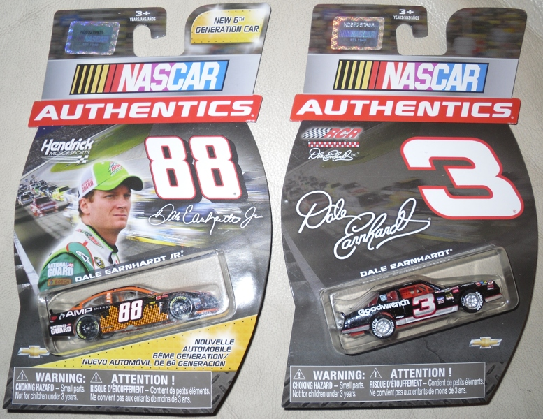 Free Nascar Authentics Dale Earnhardt Sr Amp Jr Lot Of 2