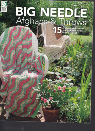 Free: LOT OF 15 AFGHAN THROW KNITTING PATTERNS FOR LARGE NEEDLES ...