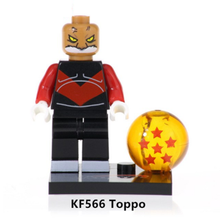 Super Dragon Ball Heroes Toppo Building Blocks Kids Toys Collection
