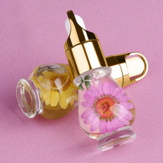 15ml Dry Flower Nutritional Cuticle Oil Nail Art Care Manicure Fresh Flavor Fash