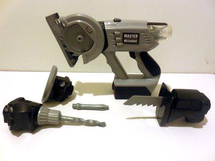 Master Mechanic Interchangeable Versi-Power Tool Toy Play Set