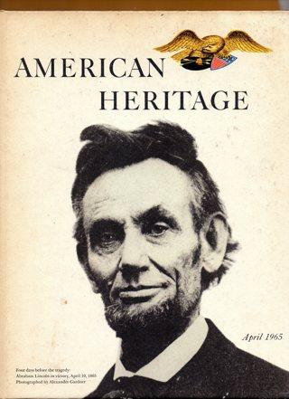 Vintage American Heritage Hard Covered Book: April 1965