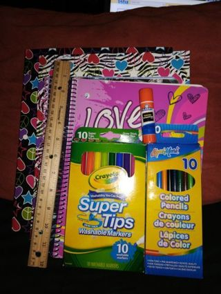 BACK TO SCHOOL SUPPLIES+free shipping