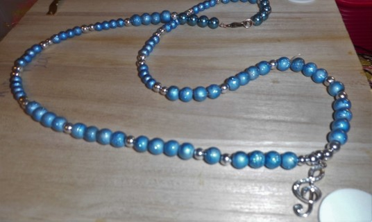 28 Inch Handmade Beaded Necklace