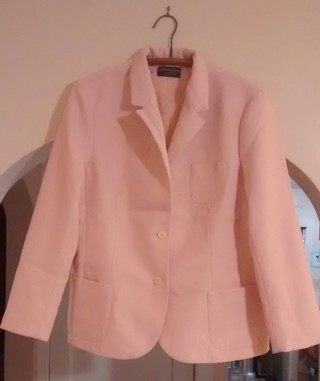 "Ladies Pink Dress Jacket.  ""Haberdashery by Personal"""