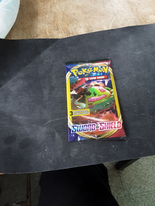 Pokemon 3 card booster pack Sword and Shield