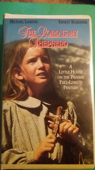 vhs the lord is my shepherd  free shipping