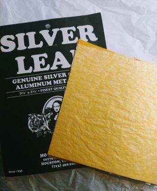 Silver Leaf for Crafting