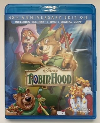 Disney Robin Hood 40th Anniversary Edition Blu-ray/DVD Combo Movie
