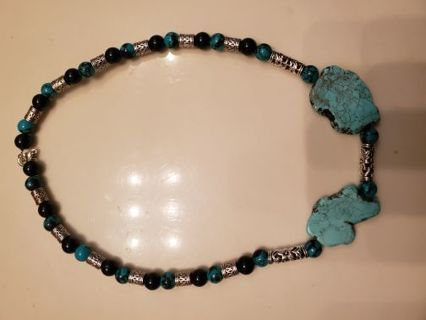 Handmade Native American Turquoise necklace