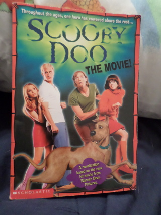Scooby Doo The Movie Book Scholastic
