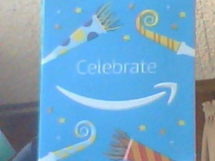 $25.00 AMAZON GIFT CARD