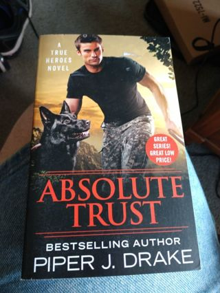 Absolute Trust by Piper Drake (paperback)