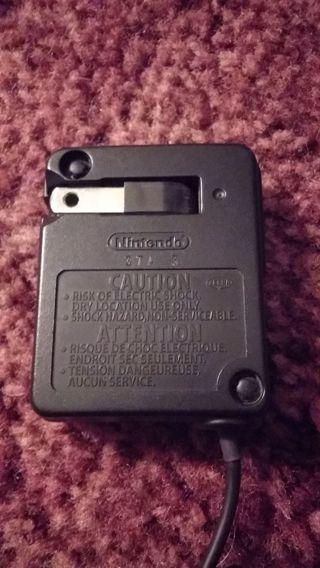 Nintendo Gameboy Advance SP AC Adapter