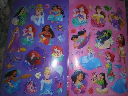 Disney princess two new sheets No refunds!! Really nice lowest gins around!! Win 2 get bonus!