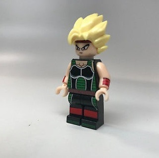 New Bardock Minifigure Building Toy Custom Lego