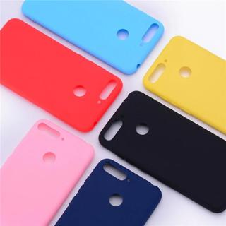 Y6 2018 Silicone Case on for Huawei Y6 Prime 2018 case Soft TPU Back Cover For Coque Huawei Y6 201