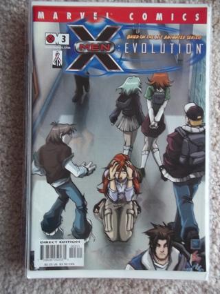 X-MEN: EVOLUTION #3 2002