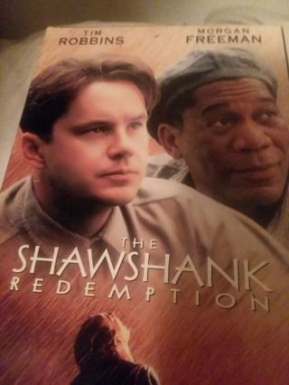 The Shawshank Redemption starring Morgan Freeman and Tim Robbins. PLEASE READ ENTIRE DESCRIPTION!