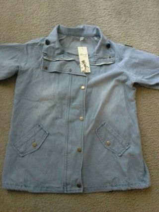 Jean Jacket With Vest ***NEW WITH TAGS*** ***FREE SHIPPING***
